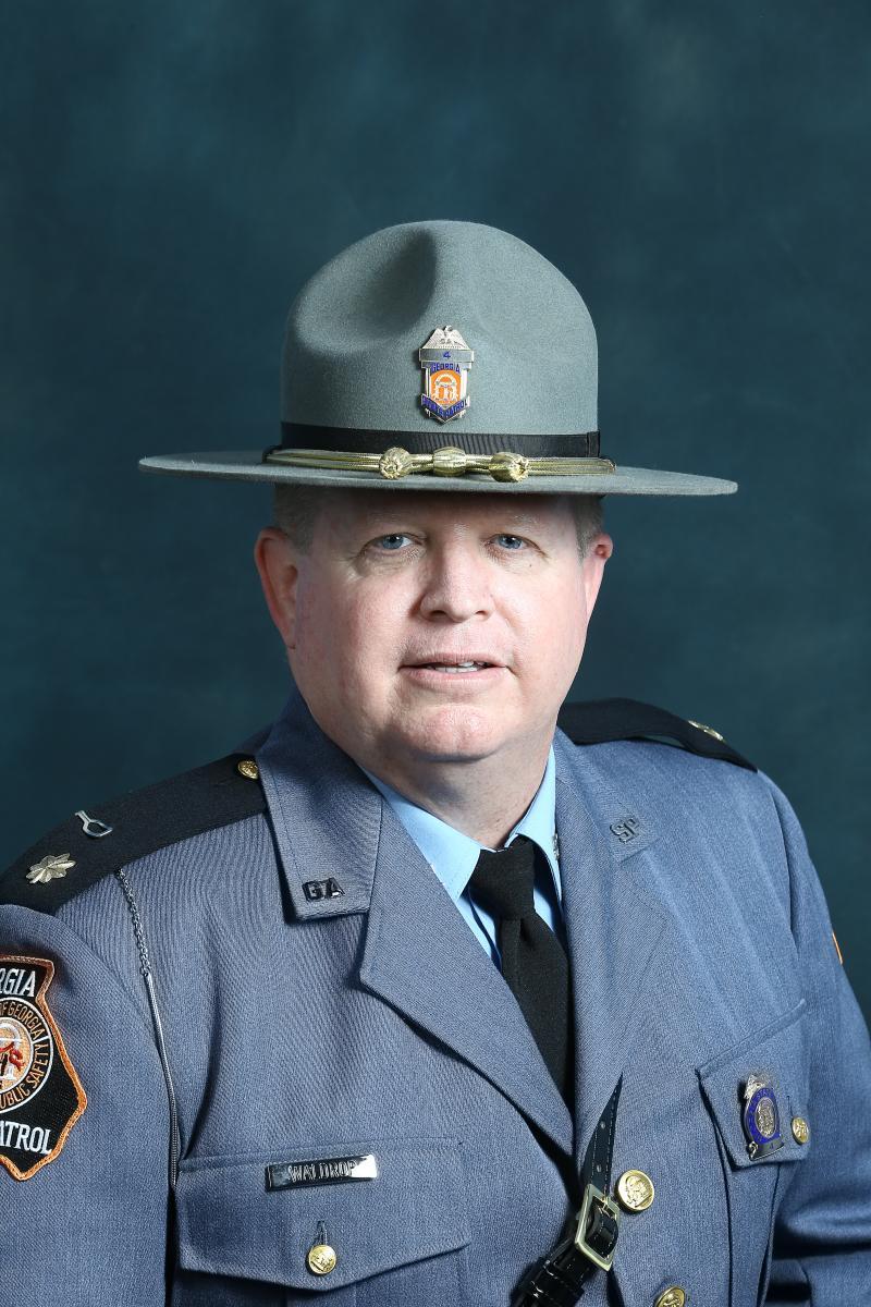 Major Tommy Waldrop, GSP Commanding Officer