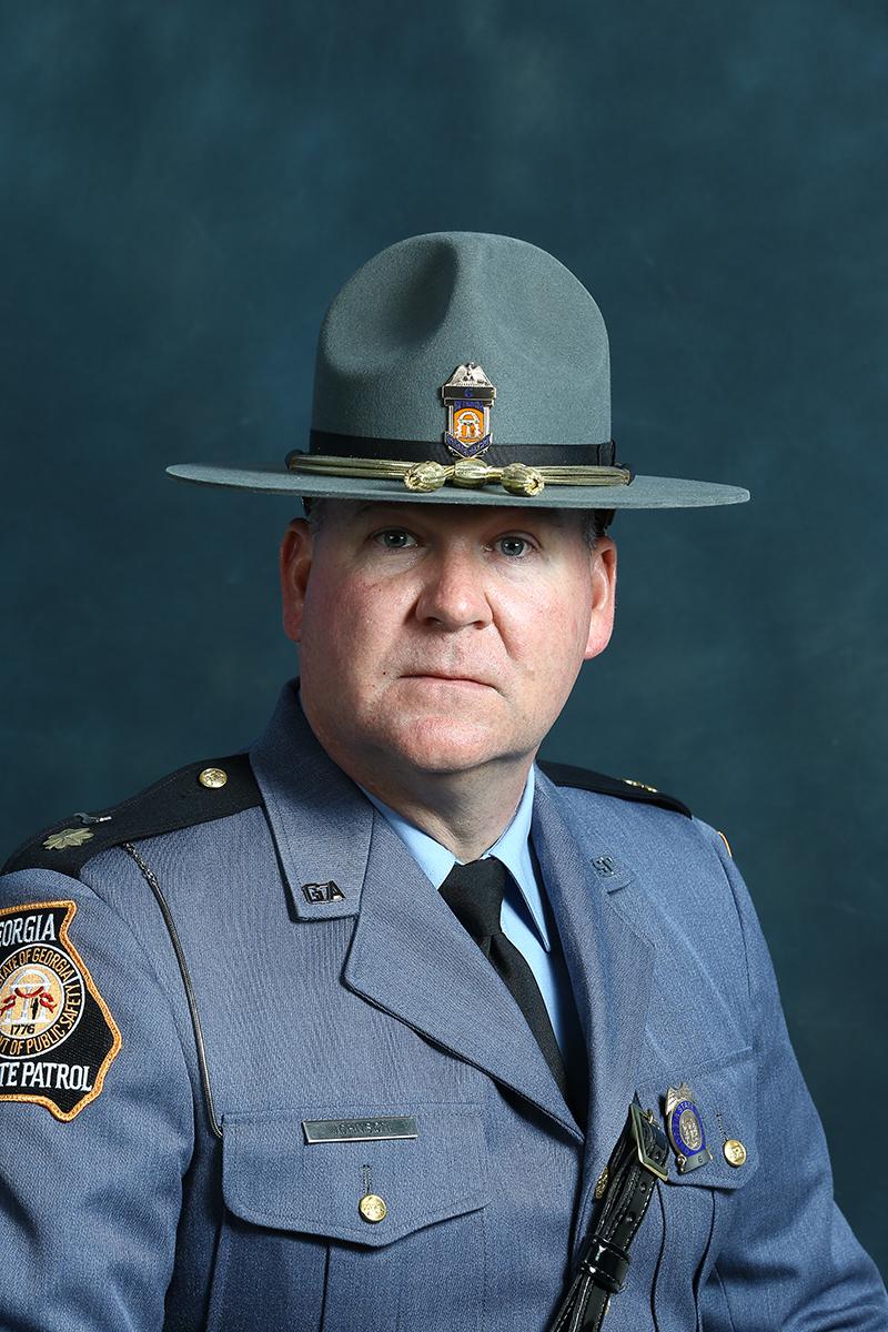 Lt. Colonel Jason Johnson, GSP Commanding Officer