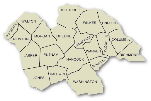 Jasper Georgia Map.Troop E Georgia Department Of Public Safety